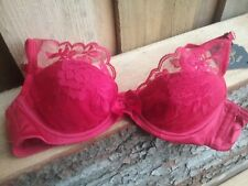 BNWT Size 34A Reger Sexy Red Padded Plunge Bra