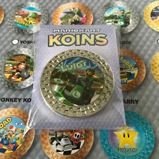 """Luigi"" Koin / Coin from Plus Mario Kart 8 Collector Koins Set Nintendo Switch"