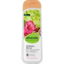 Lotion Hydratante 24h Bio Naturel Beurre de Cacao Hibiscus Vegan 250 ml ALVERDE
