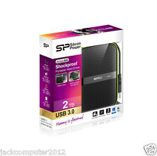 New Silicon Power Armor A60 Shockproof 2TB External Portable Hard Drive HDD 2 TB