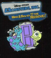 DLR Mike Sulley to the Rescue! Sulley Mike Boo Disney Pin 93667