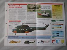 Aircraft of the World - Aerospatiale (Westland) SA 330 Puma