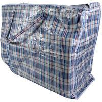 Top Quality Strong Reusable Large Jumbo Shopping Laundry Storage Luggage Bag Zip