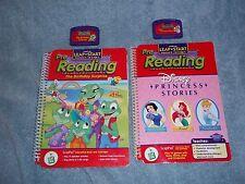 LeapPad LeapFrog Princess Stories & The Birthday Surprise Books & Cartridges GUC