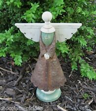 Angel w/Wings Statue/Figurine*Primitive /French Country Garden Room Decor