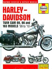 99 2000 01 03 04 05 06 07 08 09 10  HARLEY-DAVIDSON TWIN CAM 96 103  SHOP MANUAL