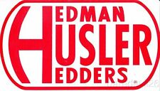 HEDMAN HUSLER HEDDERS Auto Show SEMA Show Promo Toolbox Window Decal Sticker