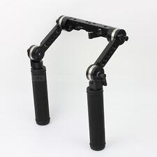 ARRI Type Rosette Arm Handle Grip Set fr 15mm Rod Support  Rod Clamp Rail System