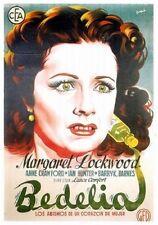 Bedelia - 1946 - Margaret Lockwood Ian Hunter Lance Comfort Vintage Drama DVD