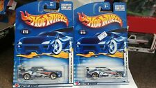 Hot Wheels 2002 1st Editions Nissan Skylines x2 Both Wheel Variations. Carded