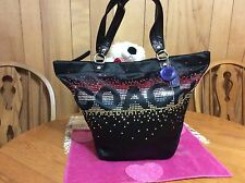 Coach Special Edition Holiday Tote with Multicolored Rhinestones F17144