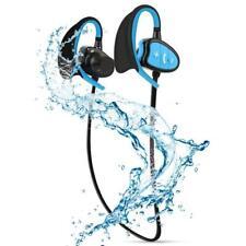 IPX8 Waterproof BT CSR Headphones Stereo Sports Music Earphone Mic for Sports