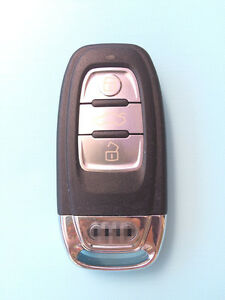 Audi A3 A4 A5 A6 A8 Q5 Q7 TT LINE RS 3 Button Remote Key Shell