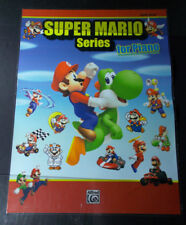 X   SUPER MARIO VIDEO GAME SONG BOOK POSTER-MUSIC STORE PROMO FOR Piano