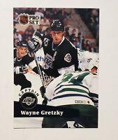 Wayne Gretzky 1991 Pro Set #574 (NM, MT card)