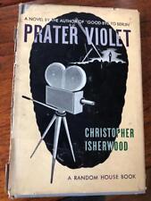 1945 Book Prater Violet Random House Christopher Isherwood - 4TH PRINTING