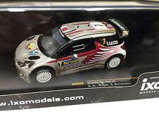 CITROEN DS3 WRC #7 AL-ATTIYAH R.SWEDEN 2012- 1/43 IXO VOITURE DIECAST-RAM503