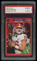 🌟2021/21 Trevor Lawrence Leaf Pro Set Rookie 1st Graded 10 All-American RC Card