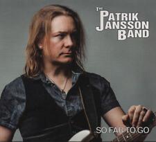 The PATRIK JANSSON BAND -So Far To Go CD 017sneaky foot DIGI  Scandinavian Blues