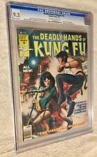 DEADLY HANDS OF KUNG FU #32 CGC 9.2 NM- First Daughters Dragon IRON FIST NETFLIX