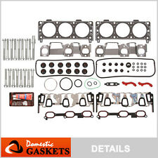 05-09 Chevrolet Equinox Pontiac Torrent 3.4L OHV Head Gasket Head Bolt Set VIN F
