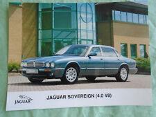 Jaguar Sovereign 4.0 V8 Press Photo brochure c1998