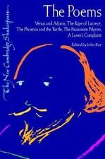 Poems : Venus and Adonis, the Rape of Lucrece, the Phoenix and the Tur-ExLibrary