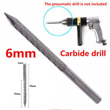 6mm carbon steel nail mushroom drill flat tire repair pneumatic bit tire repair