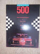 1985 Domino's Pizza 500 Auto Race Official Program Pocono Intl Raceway PA  S