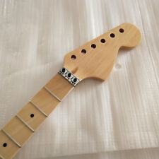 24 Fret Gloss Electric Guitar Neck For ST Parts Replacement Maple Wood Fretboard