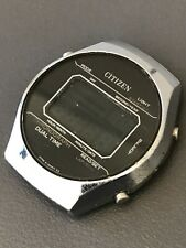 Citizen digital LCD  watch uhr reloj from the early 80s model 41-2112