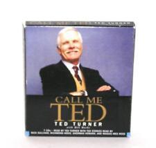BOOK/AUDIOBOOK CD Ted Turner Autobiography Memoir Philanthropy CALL ME TED