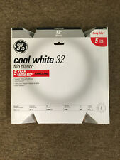 GE 98040 FC12T9/CW 32W 4100K COOL WHITE CIRCULAR FLUORESCENT LAMP 5 year bulb