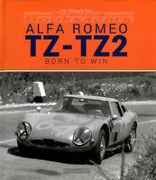 TZ ALFA ROMEO TZ2 BORN TO WIN De PRATO BOOK
