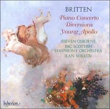 Britten: Piano Concerto Op. 13 / Diversions Op. 21 / Young Apollo (Audio CD)