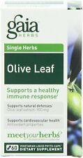Olive Leaf, Gaia Herbs, 60 Liquid Phyto-Caps