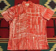 New listing Vtg The London Shop Camp Aloha Shirt Hollywood Rockabilly Size Medium!