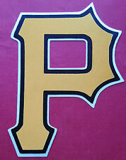 """HUGE PITTSBURGH PIRATES IRON-ON PATCH - 5.50"""" x 7.50"""""""