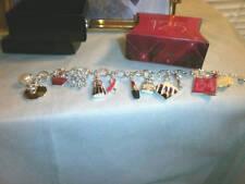 Avon 125 Year Celebration Anniversary Silver Charm Bracelet - NIB