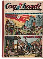 COQ HARDI Album n°7. Nouvelle série n°79 à 91 - 29 mai à 21 août 1952