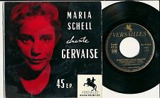 MARIA SCHELL 45 TOURS EP FRANCE MARIA SCHELL CHANTE GERVAISE