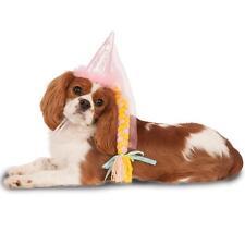 Princess Hat Braid Medieval Fancy Dress Halloween Pet Dog Cat Costume Accessory