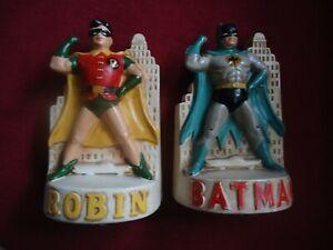 BATMAN & ROBIN bookends 1966