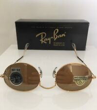 New Vintage Ray Ban B&L Gold W1909 Diamond Hard Survivors Style 1 Sunglasses