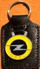 Opel Keyring Key Ring - badge mounted on a leather fob