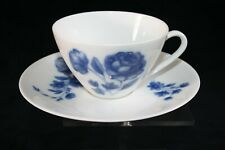 Set of 11x cups and saucers Arzberg porcelain, decor Midnight Rose