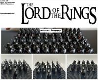 21 Pcs Minifigures Lord Of The Rings LOTR Orc Uruk-hai Kids Toy Lego MOC
