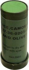 Olive Drab/Black Camouflage NATO Face Paint Stick