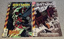 Batman #560 & 561 NM DC Comics 1998/1999 SIGNED by JIM APARO & Chuck Dixon