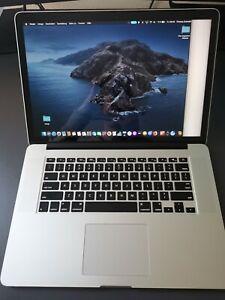 Apple MacBook Pro 15 i7 16GB RAM 256GB SSD Intel Iris Pro 2014